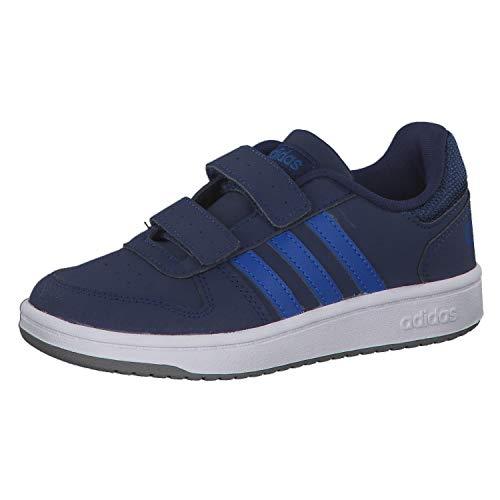Adidas Hoops 2.0 CMF C, Zapatillas de Baloncesto Unisex niño, Multicolor (Azuosc/Azul/Gritre 000), 35 EU
