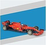 Llpeng Auto in F1 Racing Ferrari 2019 Stagione Giocattolo della Lega SF90 01:18 Display del Veicolo Adatti for la Raccolta for Maschi e Femmine Amanti dell'automobile, for Adulti e Bambini