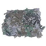 Red De Camuflaje Militar Ligero, Rejilla De Sombra, Material De Protección Solar De La Sombrilla De Tela, Para Fuerte Y Duradero Aire Libre Coche Techo Fotogra(Size:2×10m/6.6×32.8ft,Color:USTED)