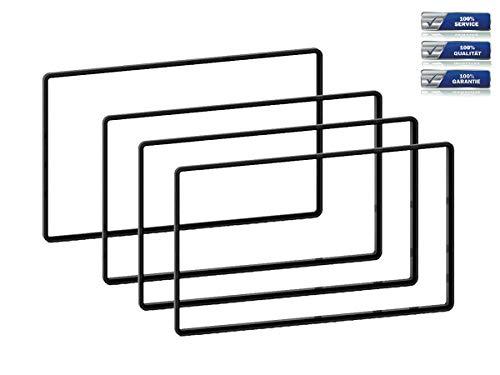 Distanz-Rahmen Set für Doppel-DIN Auto-Radios 3 x 5 mm   1 x 2,5 mm