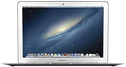 Apple MacBook Air 13.3 pulgadas (i5-4250u 4gb 128gb SSD) QWERTY U.S Teclado MD760LL/A Medio 2013 Plata (Reacondicionado)