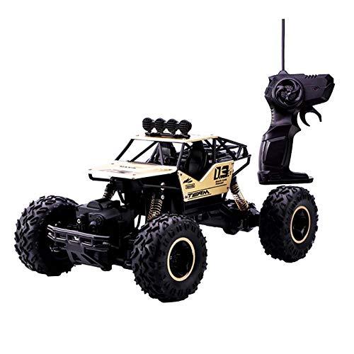 SM SunniMix Juguete Teledirigido Automático del Vehículo Teledirigido del Camión de La Escala del 1:16, Regalo para Los Niños - Dorado