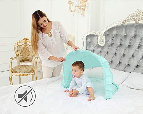 CAMPERS Bébé Moustiquaire Portable Tente Foldable Pliable Anti-Moustique Grande pour Lits Anti Mosquito Insectes, 0~5 Ans