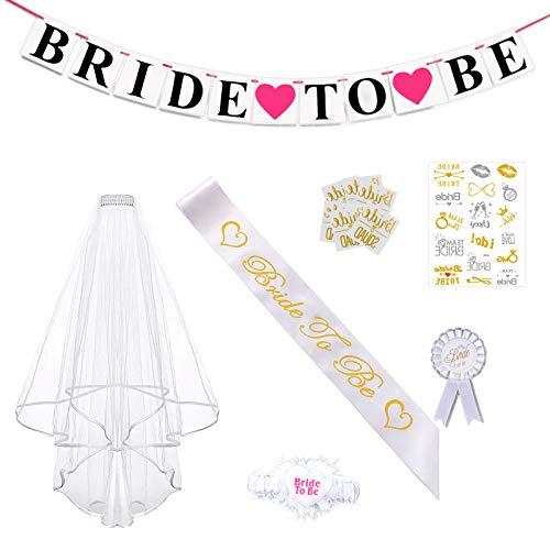 Jga, fascia per velo da sposa, accessorio decorativo per addii al celibato, da donna, decorazione per matrimonio per sposa o per la sposa