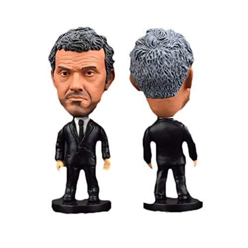 Luis Enrique Fútbol Figura Figura Toy Figurine 6.5cm Modelo de Altura Muñeca...