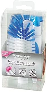Tommee Tippee Closer to Nature Bottle and Teat Brush, Blue