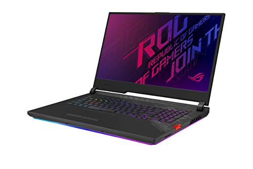 "ASUS ROG Strix Scar 17 Gaming Laptop, 17.3"" 300Hz FHD IPS Type, NVIDIA GeForce RTX 2070 Super, Intel Core i7-10875H, 16GB DDR4, 1TB PCIe SSD, Per-Key RGB Keyboard, Wi-Fi 6, Windows 10, G732LWS-DS76"