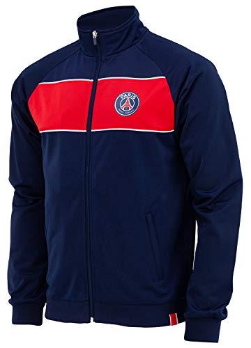 Paris Saint Germain Herren-Jacke PSG, Erwachsenengröße XX-Large blau