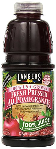 Langers All Pomegranate 100 Percent Juice, 32 Fluid Ounce
