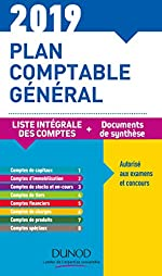 Plan comptable général 2019 - Plan de comptes & documents de synthèse (dépliant séparé) de Charlotte Disle