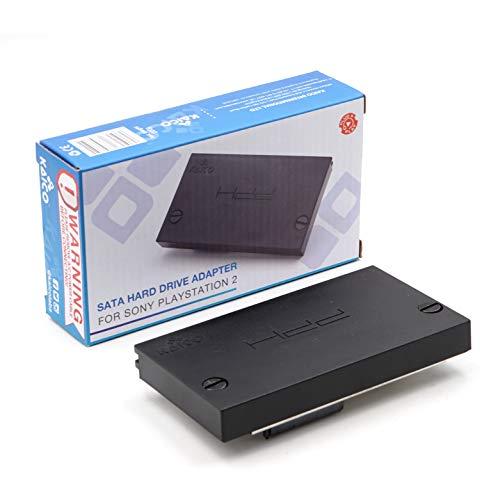 Edición Kaico - Adaptador de disco duro SATA HD Adaptador HDD para la Sony PlayStation2 PS2 - Ejecuta CFW como McBoot FMCB/FMHD directamente desde el disco duro