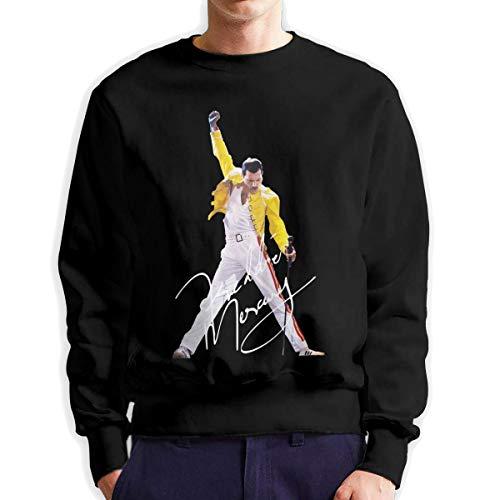 MYHL Men's Freddie Mercury Fashionable Casual Style Crew Neck Cotton Sweatshirt Hoodie