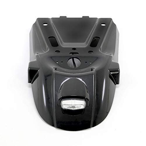 RONGLINGXING Powersports Onderdelen Motorcycle Tail Plate hendelsteunkap Tail Mount Plate Bracket Rear Fender achter Plant for BMW R NINE T 2014-2019 R9T (Color : Black)