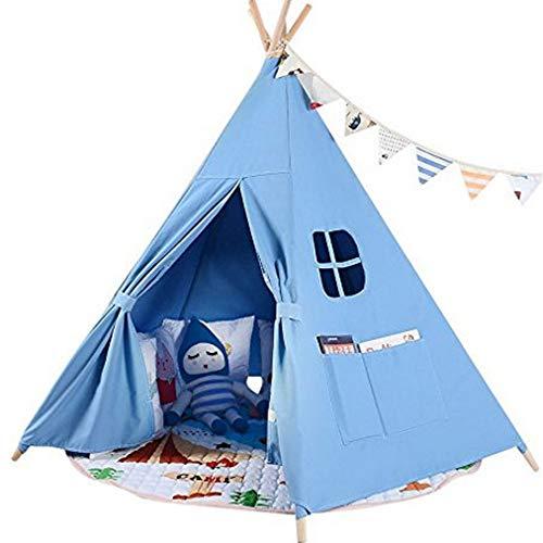 Indian Teepee Tentes pour Enfants Toile, Les Enfants de matériel de Divertissement Tente Jouets, Princess House Toy Tente bébé Enfants Maison Crawling