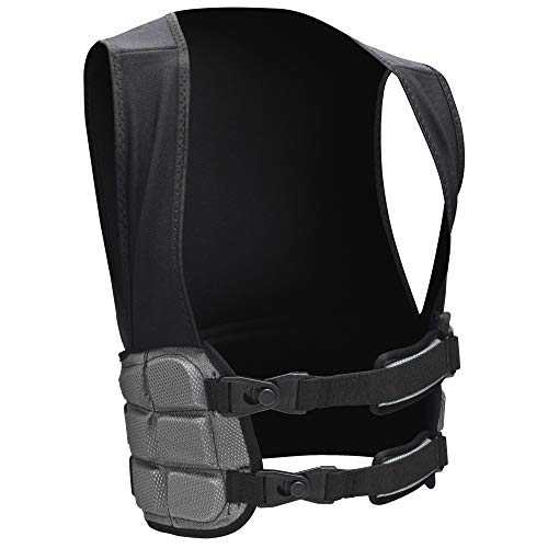 Schutt Sports Hard Shell Football Rib Protector, Large (34' - 40'), Black