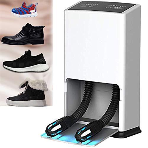 Secador de Zapatos, Secador Botas con Sincronización de Control Dual, Esterilización UVC, Diseño de Tallado Hueco, Ahorro de Energía, Función de Ozono, para El Secado de Zapatos