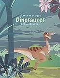 Carnet de croquis Dinosaures Dromaeosaurus: Cahier de Dessin pour Enfant, Grand Format,120 Grandes pages blanches | 20,32 cm x 27,94 cm, croquis esquisses Schémas. (French Edition)