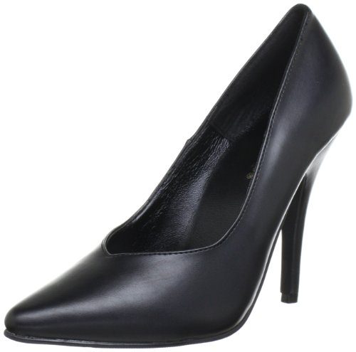 Pleaser SEDUCE-420V Damen Pumps, Schwarz (Blk pu), EU 38 (UK 5) (US 8)