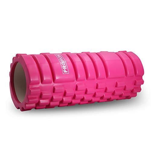 PROIRON Fitness Rodillo de Espuma Foam Roller Pequeño Pilates para Masajes, de Tejido Profundo para Muscular Fitness Pilates Yoga 14 x 33cm, Peso Ligero