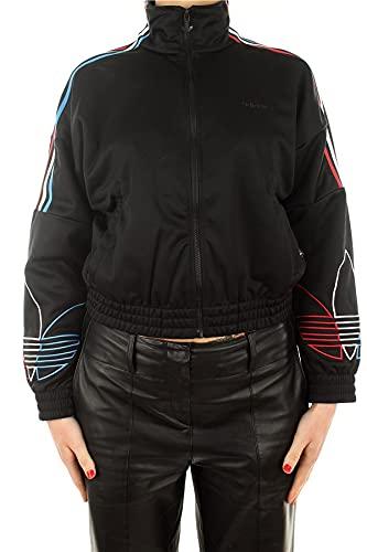 adidas GN2950 Tracktop PB Pullover Womens Black 38