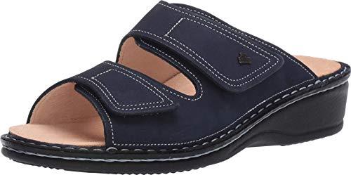 Finn Comfort Women's Jamaica Soft Casual Shoes Atlantic Navy Patagonia Nubuck EU Size: 37 - US Size: 6/6.5 Medium