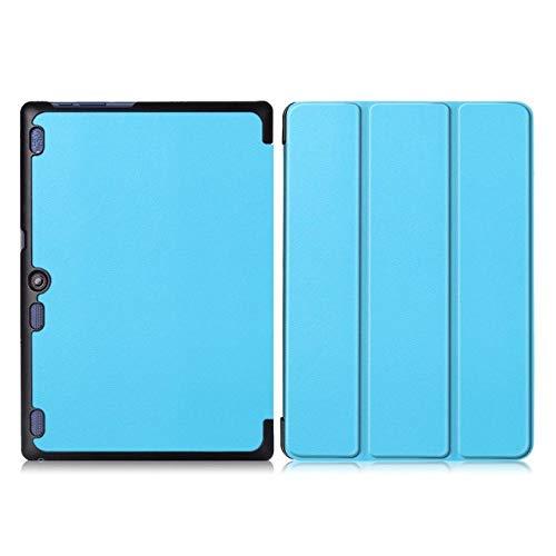 YHWW Tablethülle Ultra Slim Stand Case Hülle für Lenovo Tab 10 TB-X103F Tab 2 A10-70 Tab 2 A10-30 Tab3 10 Plus Tab3 10 Business Tablet Hülle, Tab2 A10 KST SkyBlue