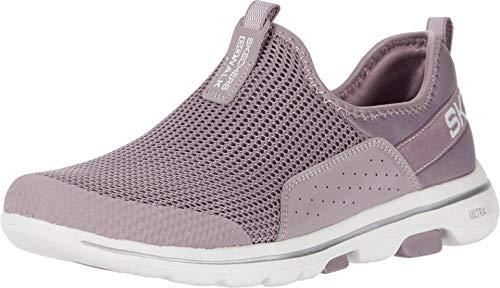 Skechers Damen GO Walk 5-124013 Sneaker, Mauve, 39 EU