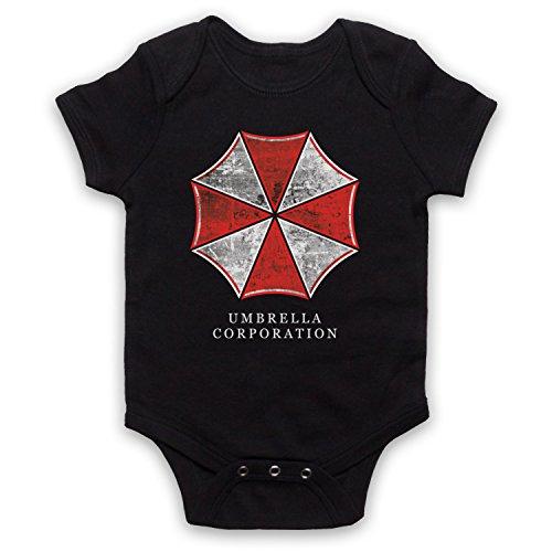 Death To Videodrome Resident Umbrella Corp Logo Malvado Horror Juego Película Bebé Crecer