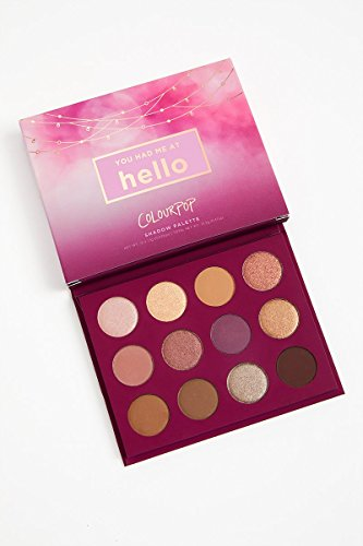 Colourpop – Pressed Powder Shadow Palette – You Had Me At Hello