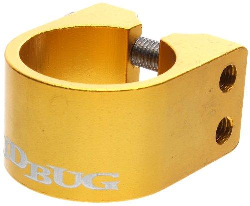 JD Bug Pro Series Collier de serrage double Jaune jaune