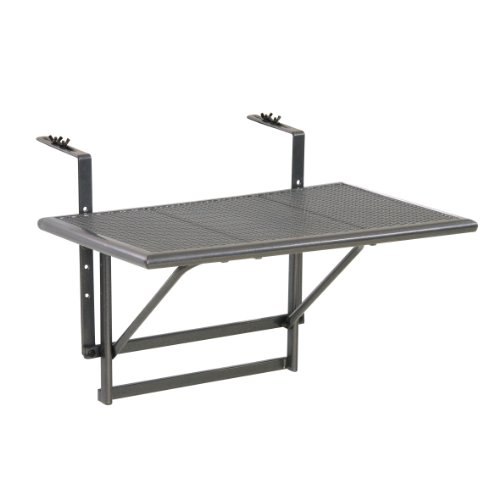 greemotion 416505 Mesa de Pared Ajustable, gris, Pequeño