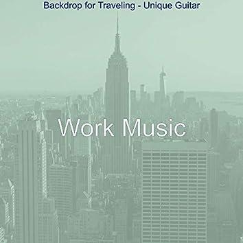 Backdrop for Traveling - Unique Guitar