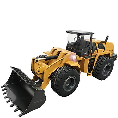 IIIL Metal Control Remoto Bulldozer RC Vehiculo Ingenieria Juguete, 2.4G 1:14 Loader...