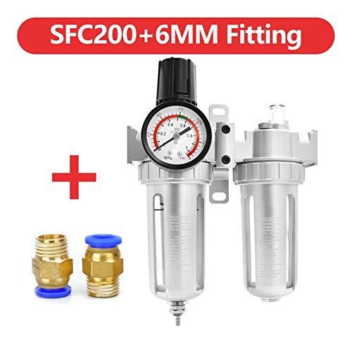 Compresor de aire Filtro AFC2000 para aceite de compresor Separador de agua Regulador Filtro de trampa Airbrush Regulador de presión de aire Válvula reductora Para compresores y herramientas neumática