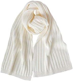 Fantasie Terrene - Firenze. Sciarpa uomo a coste larghe, fatta a maglia con filato Misto Lana di Alta qualità. Made in Ita...
