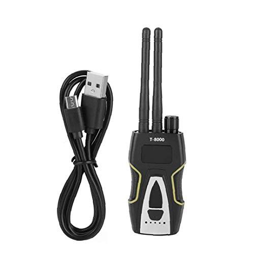 Canjerusof Detector de señales Anti-espía Detector de T-8000 inalámbrica de señales de Audio Rastreador GPS Localizador de trazador