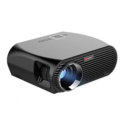 Proyector LIU inalámbrico WiFi Inicio de Negocios Compatible con 1080p de proyección, proyección Dibujo Tamaño 60-120 Pulgadas (cm)