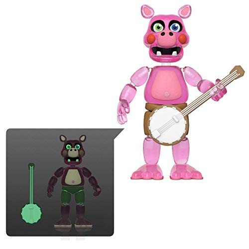 Funko 45639 Action Figure: Friday Night at Freddy's Pizza SIM- Pig Patch - Glow in The Dark Translucent Collectible Toy, Multicolour