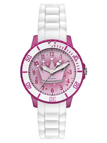 s.Oliver Mädchen-Armbanduhr Analog Quarz Silikon SO-2592-PQ