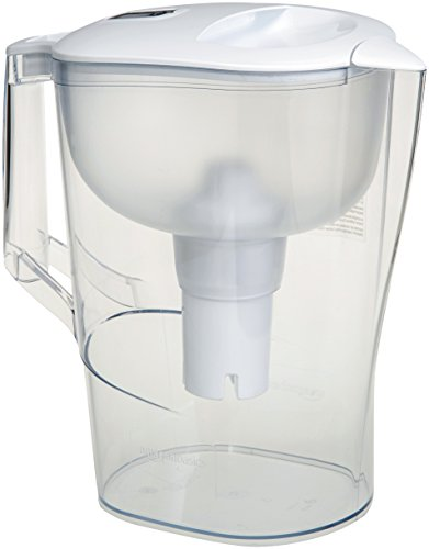 AmazonBasics 10-Cup Water Pitcher with Filter
