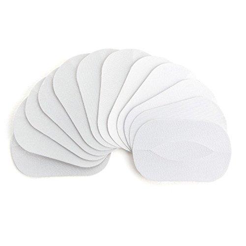 KINGDUO 50 Paires De Cils en Soie Greffage Patches Kit sous Oeil Masque Cils Extension Pad Autocollants