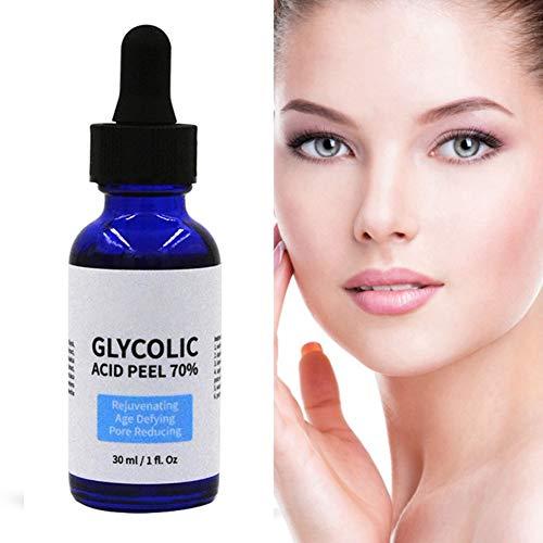 Glycolic Acid Peel 70%, Professional Grade Chemical Face Peel Serum for...