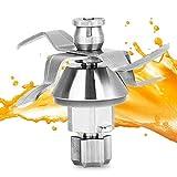 Ymiko Accesorios de la Pieza de Repuesto de la Cuchilla de Acero Inoxidable de la licuadora Apto para Vorwerk Thermomix TM31 TM51