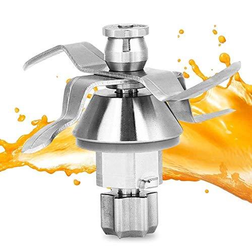 Ymiko Mixer Blade Edelstahlklinge Ersatzteilzubehör Passend für Vorwerk Thermomix TM31