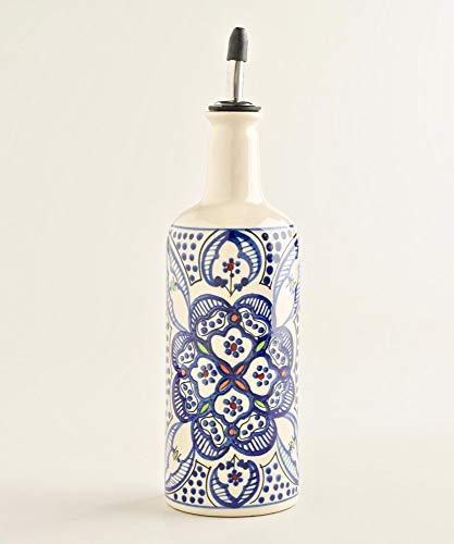Ceramic Serving Bottle And Dispenser