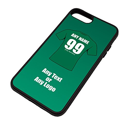 UNIGIFT The Exiles Schutzhülle für iPhone 8, Motiv London Irish Rugby-Union, Schwarz