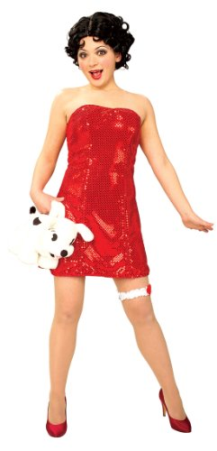 Betty Boop Secret Wishes Costume With Wig