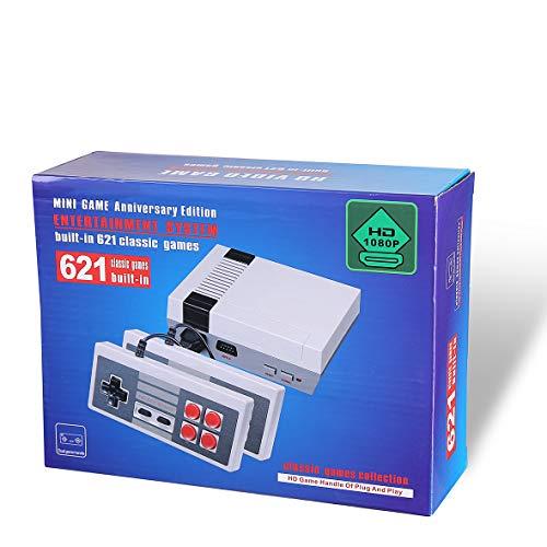 Mini Edition Classic Console per Giochi Familiari - con 621 Giochi HDMI-Esportazione