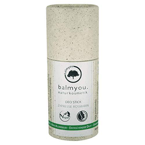 Balmyou Desodorante en barra ciprés romero.