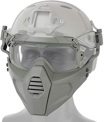 Acoplar Mascara A Casco Airsoft